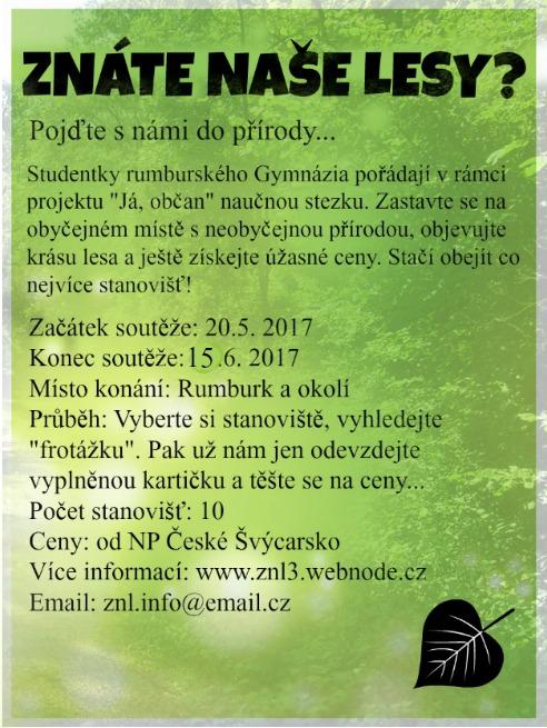 Znáte naše lesy?
