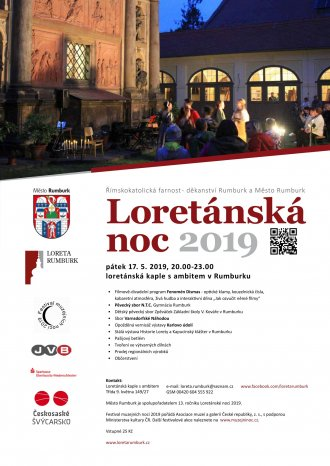 Loretánská muzejní noc 2019 v Rumburku