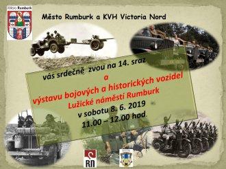 Výstava bojových a historických vozidel