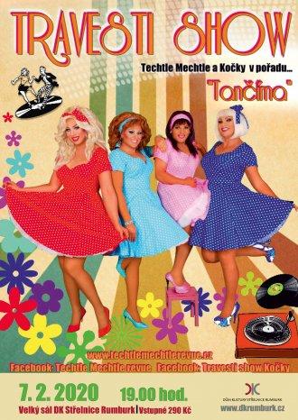 Tančírna - Travesti show Techtle Mechtle a Kočky