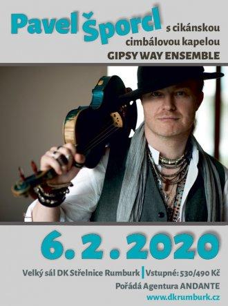 PAVEL ŠPORCL s cikánskou cimbálovou kapelou GIPSY WAY ENSEMBLE