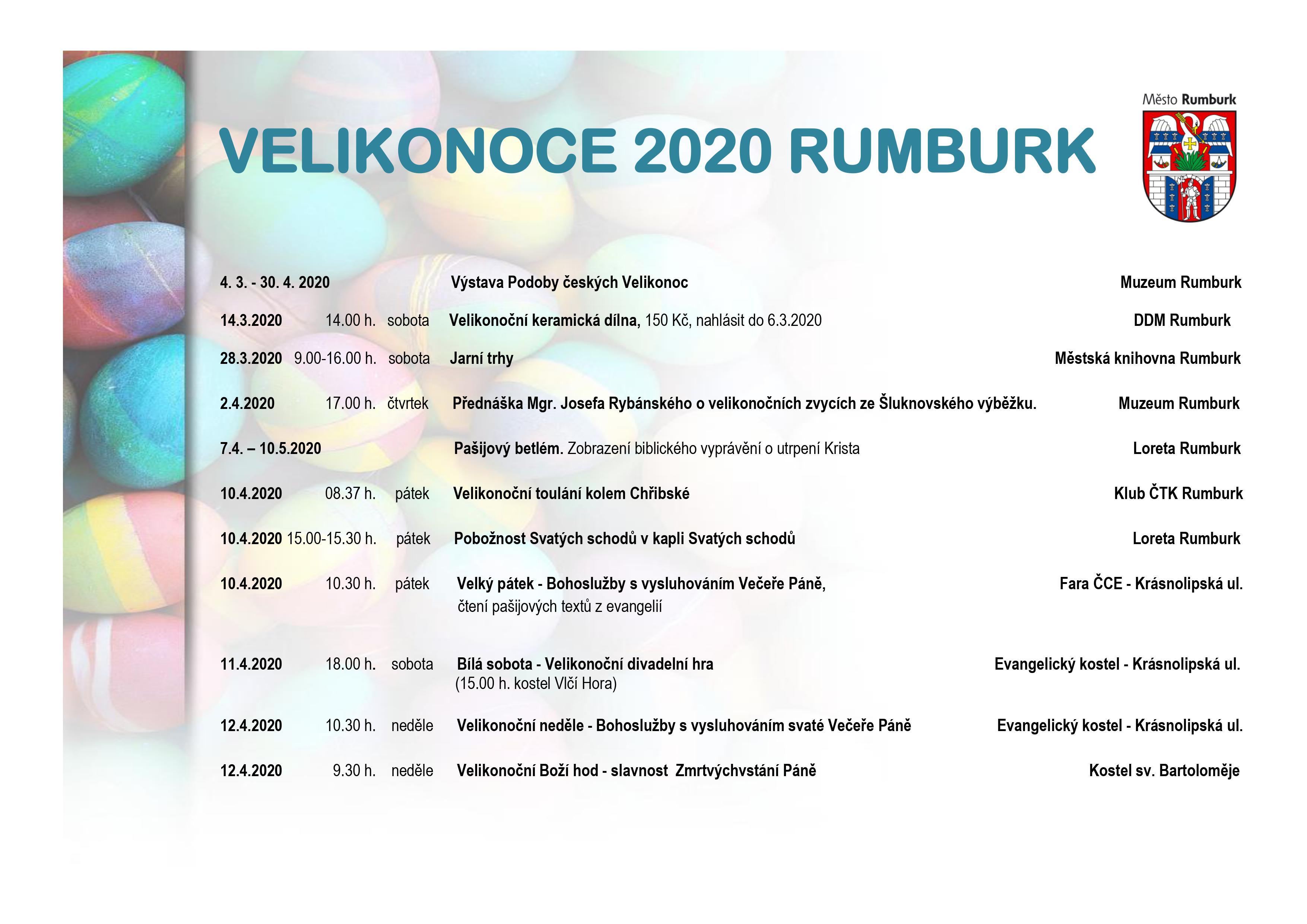 Velikonoce 2020 v Rumburku