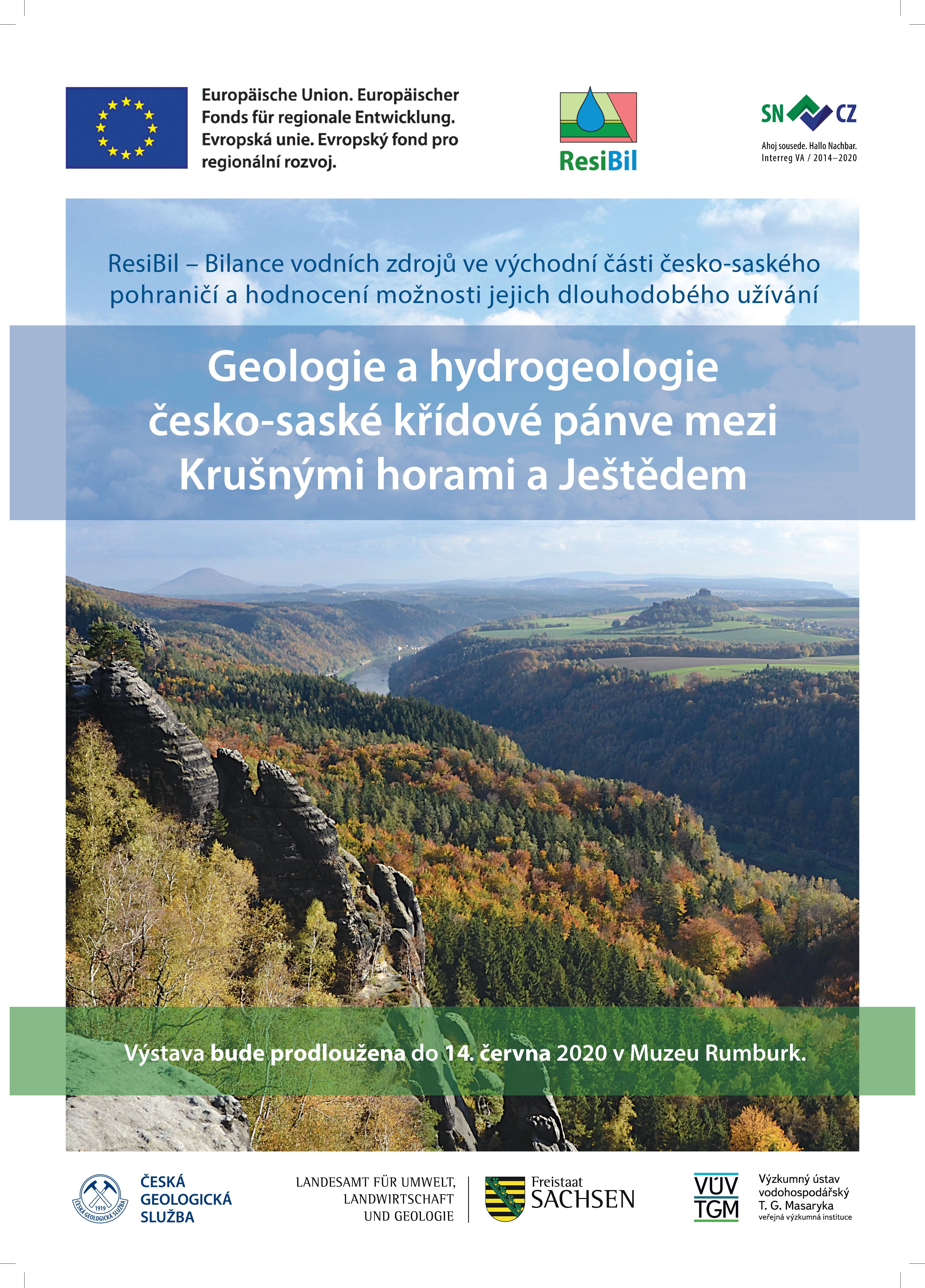 Geologie a hydrogeologie česko-saské křídové pánve mezi Krušnými horami a Ještědem