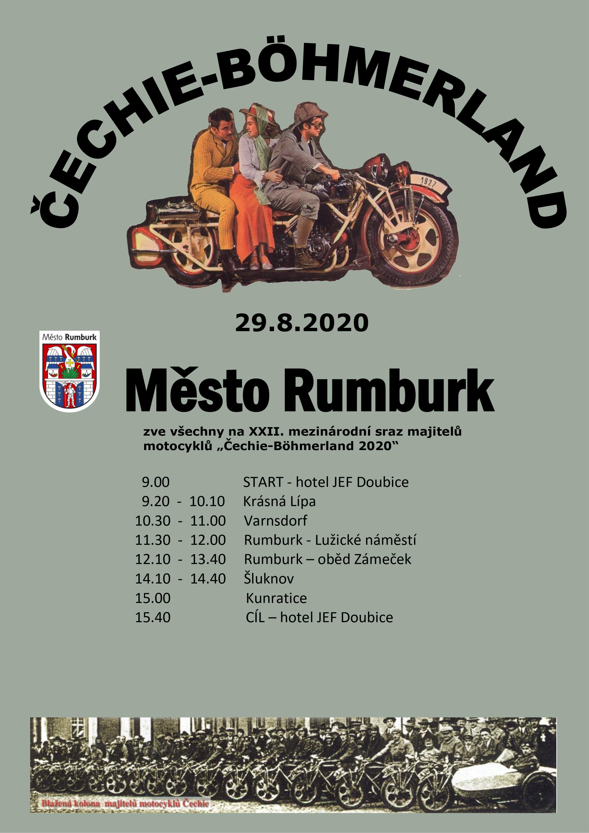 Čechie-Böhmerland 2020