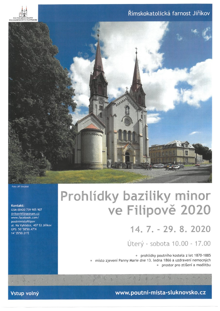 Prohlídky baziliky minor ve Filipově
