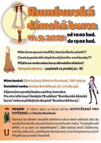RUMBURSKÁ DÁMSKÁ BURZA